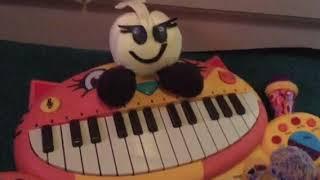 Starlow's cat piano - super mucinex Alli