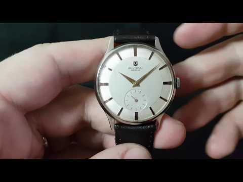 1956 Universal Geneve oversize men's vintage watch