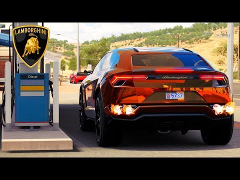 Forza Horizon 3 Lamborghini Urus Gameplay HD 1080