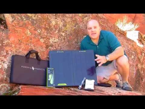 Goal Zero Sherpa 50 Solar Power Kit
