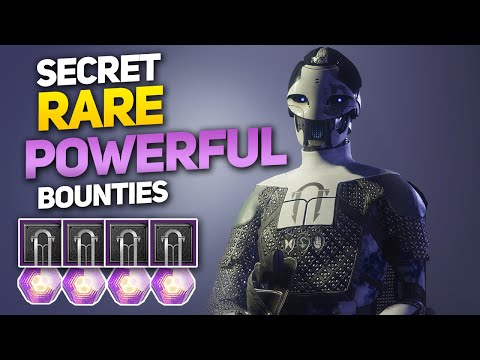 All 8 Secret Rare Powerful Reward Bounties and How to Get Them (Destiny 2 Black Armory) thumbnail