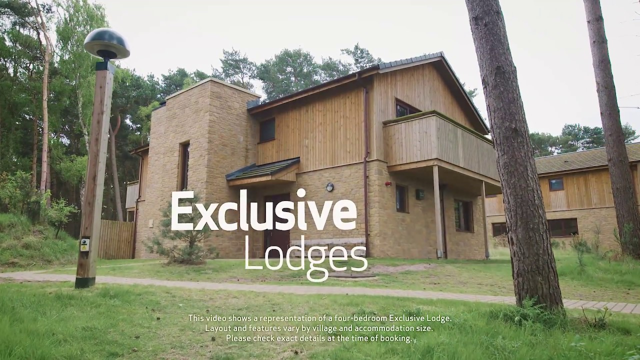 Exclusive Lodge At Center Parcs Youtube