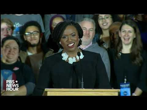 Ayanna Pressley 'grateful beyond words' for Massachusetts House win