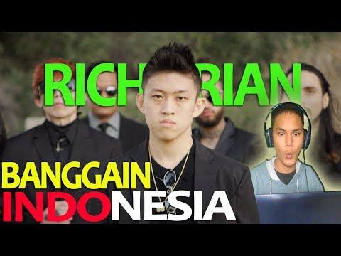 RICH BRIAN BANGGAIN INDONESIA!! - REAC WATCH OUT..