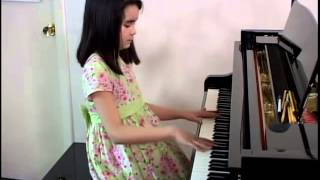 10 year old pianist - Mansion Over The Hilltop