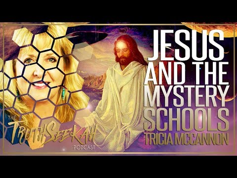Tricia McCannon   Jesus And The Mystery Schools   Angels and How To See Them