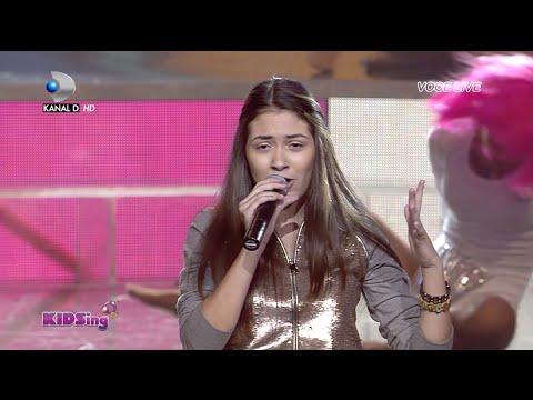 Letitia Roman Canta Chandelier - Finala - KIDSing 2014