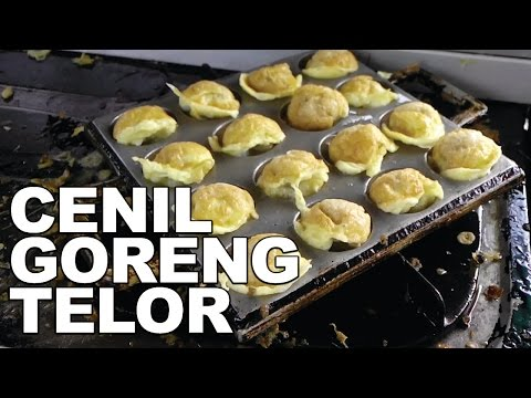 JAJANAN KULINER DI SOLO: CENIL GORENG TELOR - SOLO STREET FOOD #4