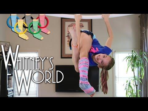 Leg Cast Olympics   Gymnastics Castnastics   Whitney from YouTube · Duration:  9 minutes 17 seconds