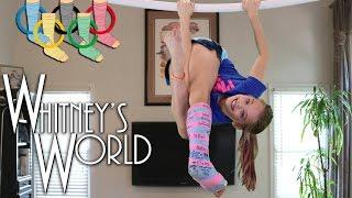 Leg Cast Olympics | Gymnastics Castnastics | Whitney