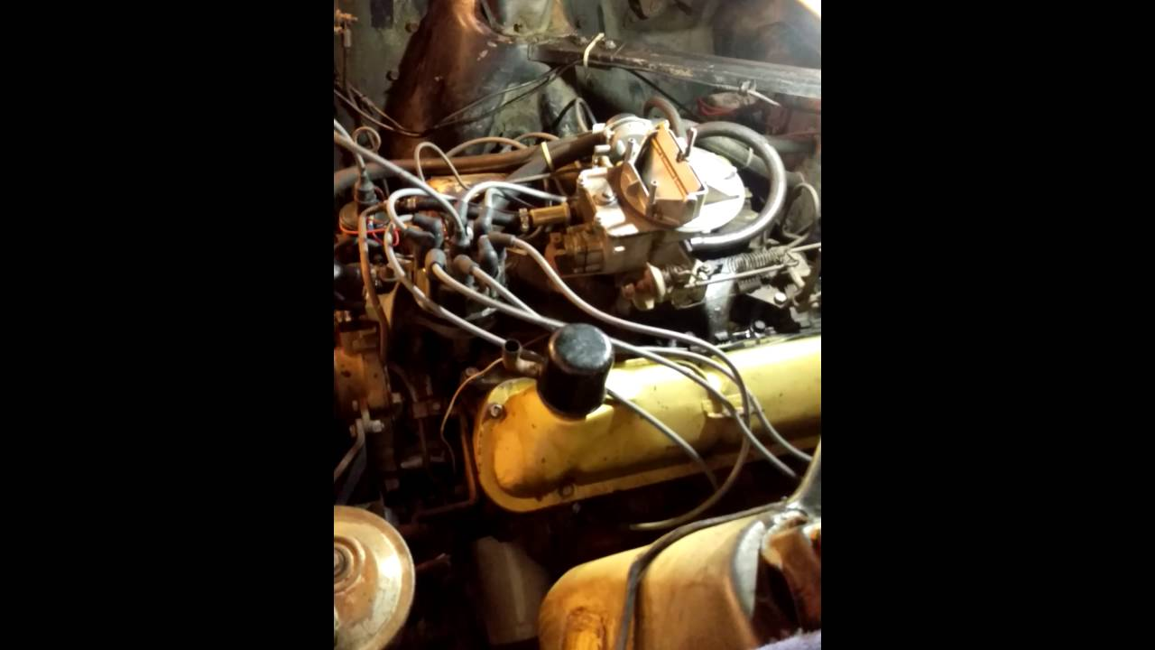 65 Mustang idling/running rough and sputtering
