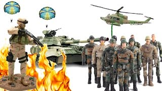Toy Soldiers Unboxing, Army Toys, Kids World #1