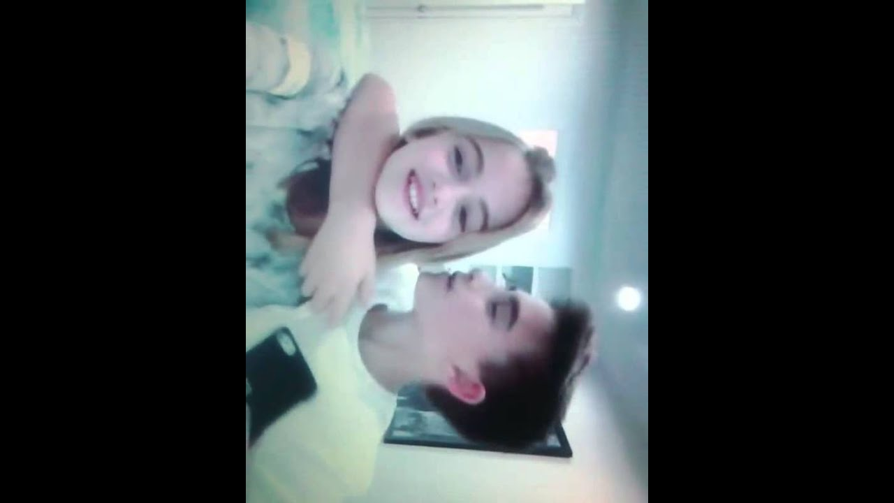 Johnny Orlando kisses his little sister Lauren Orlando ...