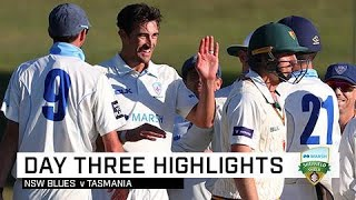 Starc leads the charge as NSW rattle Tasmania | Marsh Sheffield Shield 2019-20