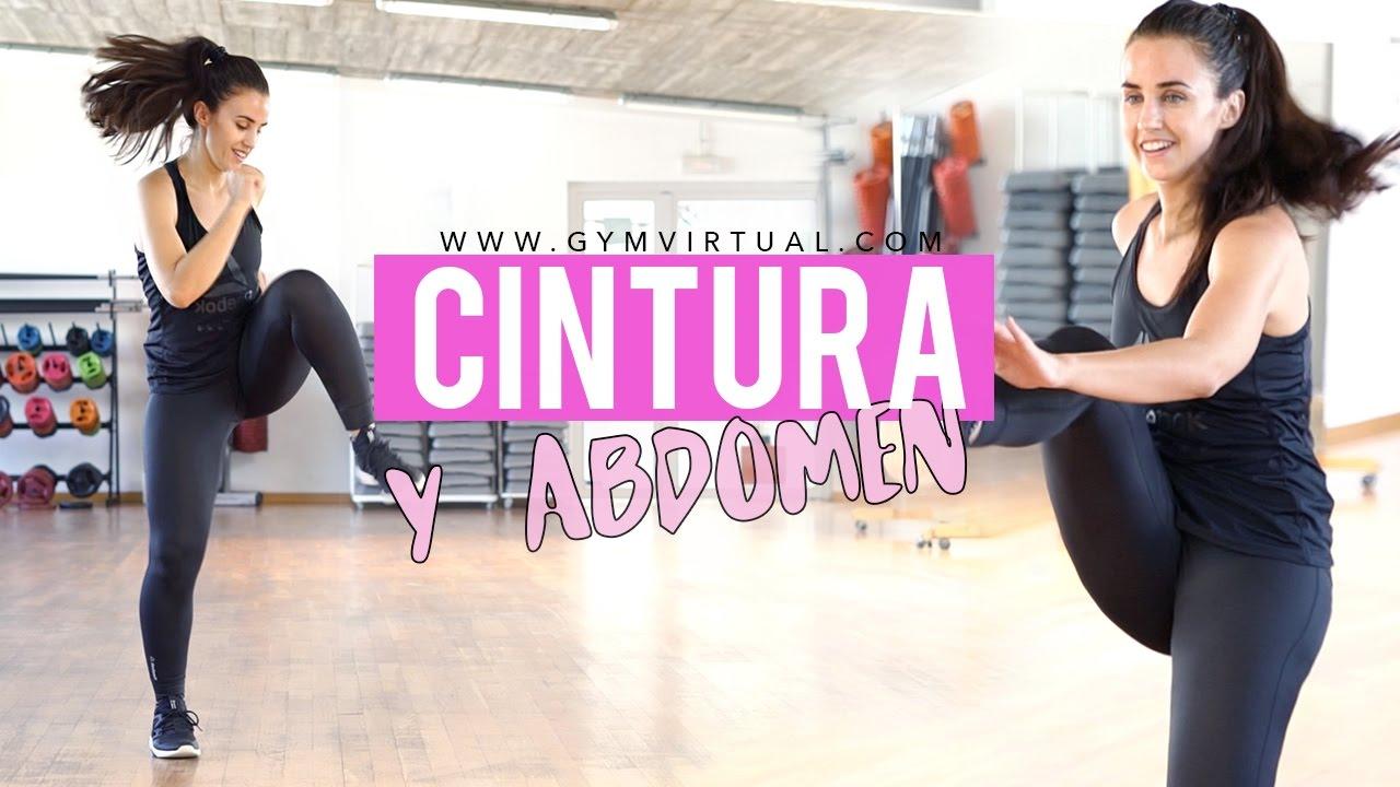 Y cintura de gym ejercicios abdomen