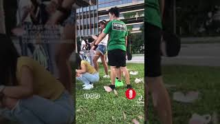 Footages of foreign maids not practising social distancing at Paya Lebar on 25th July 2021
