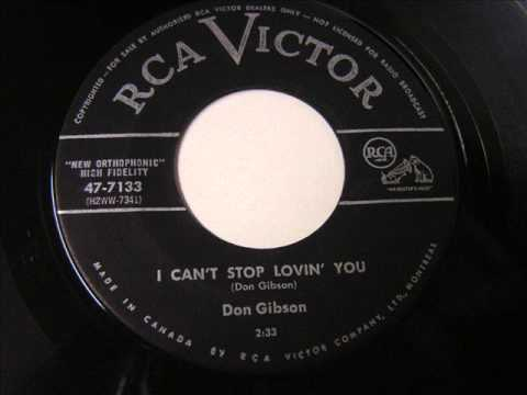 I Can't Stop loving You -  Don Gibson