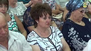 В Каневском районе  начальник кубанского главка встретился с членами семей погибших сотрудников ОВД
