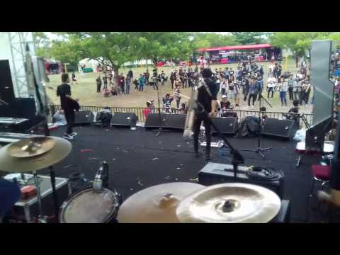 Scarlet Overkill - O.G Loko (Of Mice & Men Cover) Live at Rock In Celebes 2016