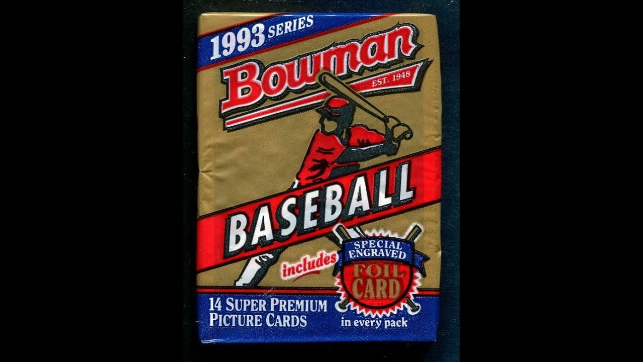 1993 Bowman Baseball Hobby Box Break