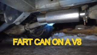 1995 Jeep Grand Cherokee V8 Exhaust With a Fart Cannon