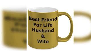 Mug Best Friend For Life Husband & Wife