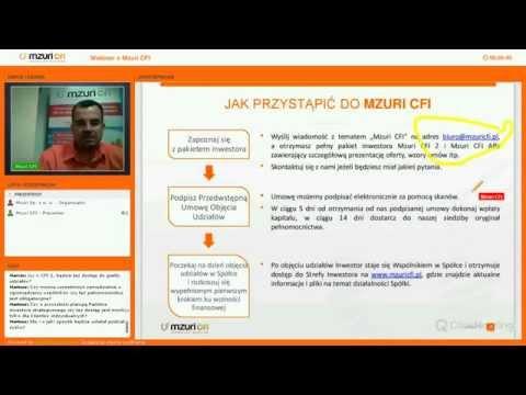 Webinar o Mzuri CFI