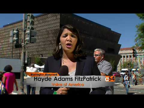 VOA'S Hayde FitzPatrick at the National Museum of African American History and Culture