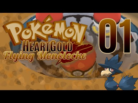 Pokémon HeartGold Flying Monolocke | Episode 1 | Off to a Flying Start