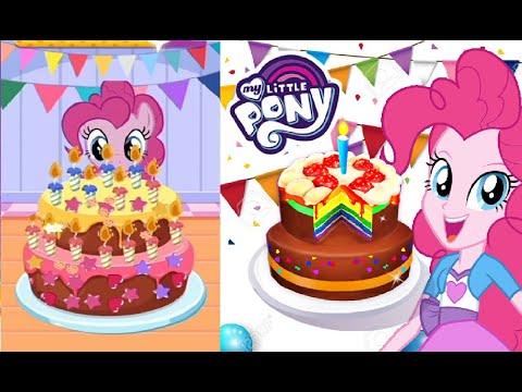 My Little Pony - Pinkie Pie Birthday Bakery Story 🦄🦄🎂