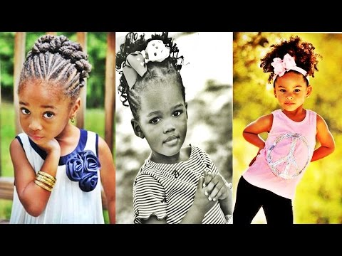 Elegant African American Girl Child Hairstyle Ideas Gallery