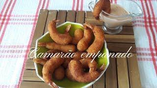 Receita Fácil do Camarão Empanado