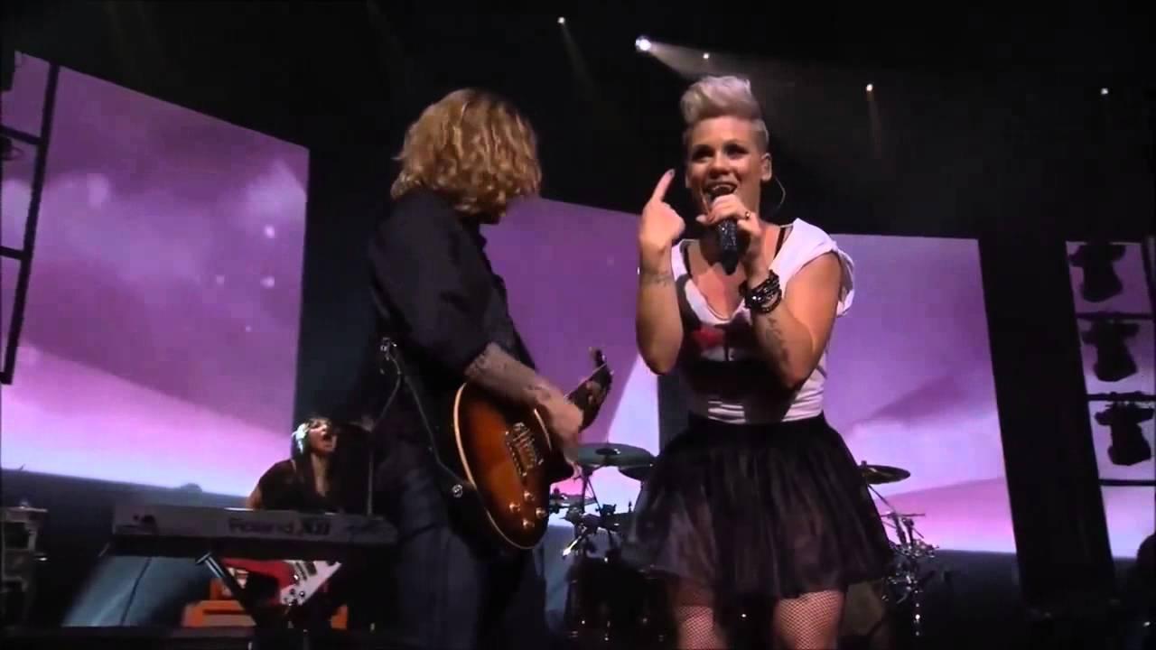 P!NK -- Live 2012 Full Concert - YouTube