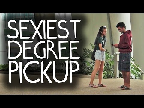 Sexiest University Degree Pick Up Lines in Real Life!