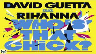 David Guetta ft  Rihanna   Who