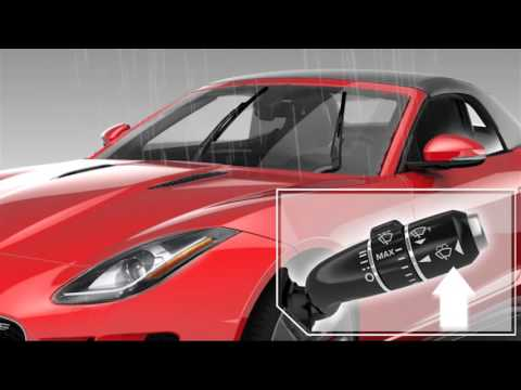 Jaguar F-TYPE - Windshield Wipers - Jaguar USA - 동영상