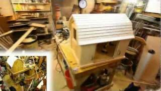 Christian's Toy Box Barn (with Split-screen Time Lapse)