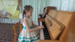 Посаженникова Люба 7 років Б. Будницкий ''Заводна іграшка''