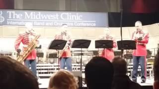 Adagio Samuel Barber  United States Marine Band Saxophone Quartet