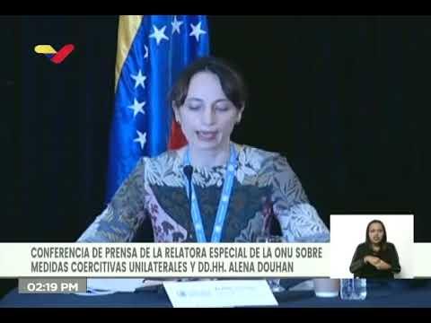 Relatora especial de la ONU presenta informe sobre sanciones contra Venezuela, 12 febrero 2021