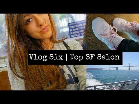 Vlog 6 | San Francisco | Cowboys and Angels Hair Salon