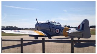 Goodwood airfield plane movements