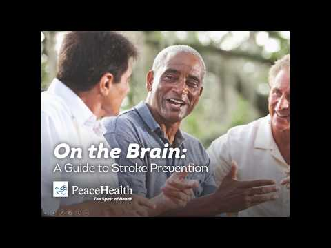 On the Brain  A Guide to Stroke Prevention from PeaceHealth