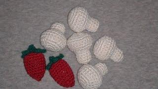 Шампиньон! Вязание крючком. Knitted mushrooms.