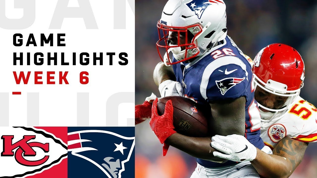 Chiefs vs. Patriots Week 6 Highlights  4a585c1bd