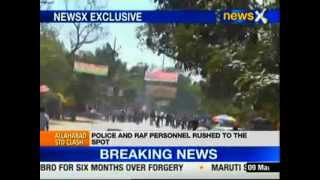 Students of 2 groups clash in Allahabad University