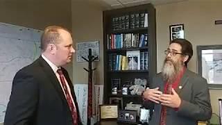 Uncle Grumpy talks and walks with Jon Echols