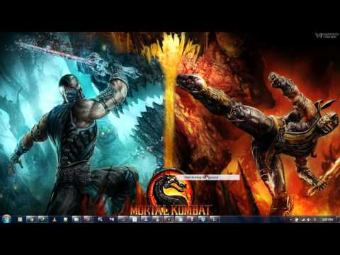 mortal kombat x theme Installation and Password