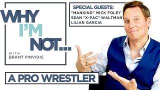 "Zapętlaj Why I'm Not: A Professional Wrestler - w/ guests Mick Foley, Sean ""X-Pac"" Waltman, Lilian Garcia | AfterBuzz TV"