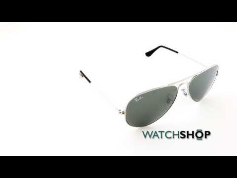 Ray-Ban Men's Aviator Mirror Sunglasses (RB3025-W3277-58)
